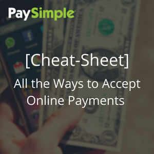 PaySimple Accepting Payments Guide