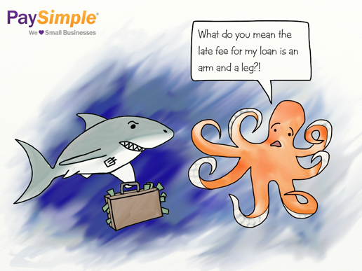 Loan Shark cartoon