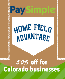 PaySimple Home Field Advantage for Colorado Businesses