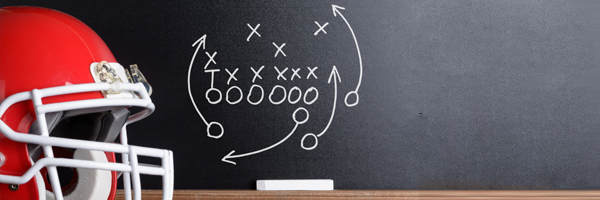 learn from your competition, play on chalkboard football