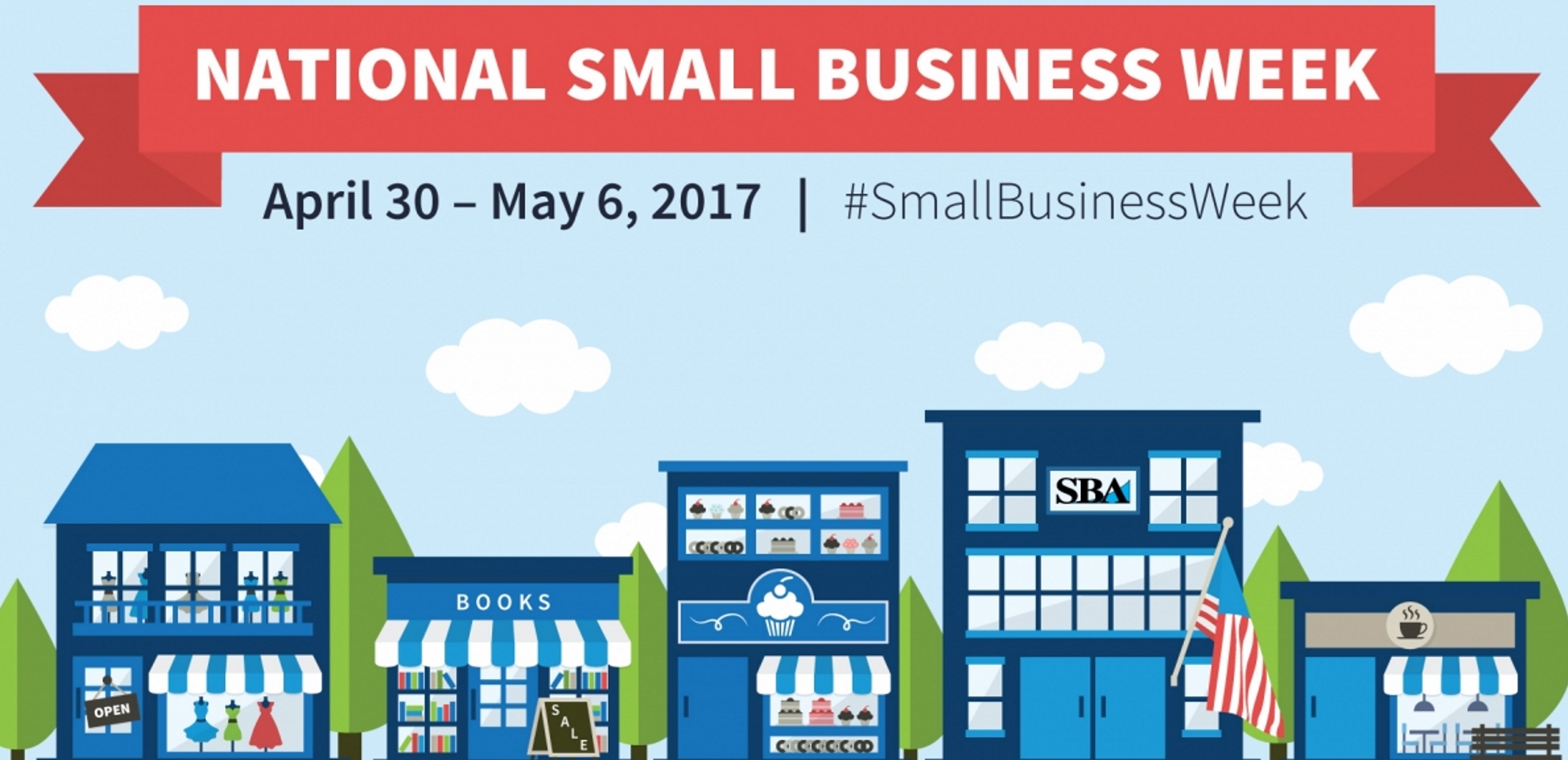 Share Your Story & Hone Your Skills by Participating in National Small Business Week Events