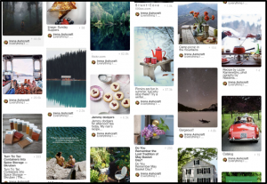 An example of a Pinterest Board
