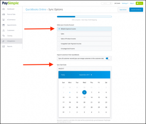 PaySimple + QuickBooks Online Integration