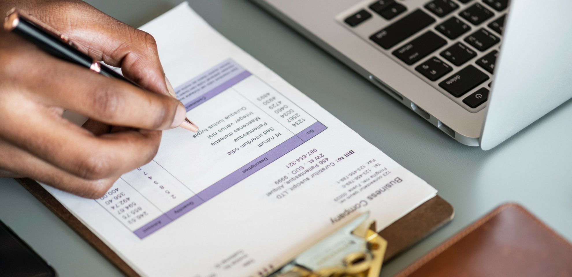 The 9 Essential Elements of a Small Business Invoice